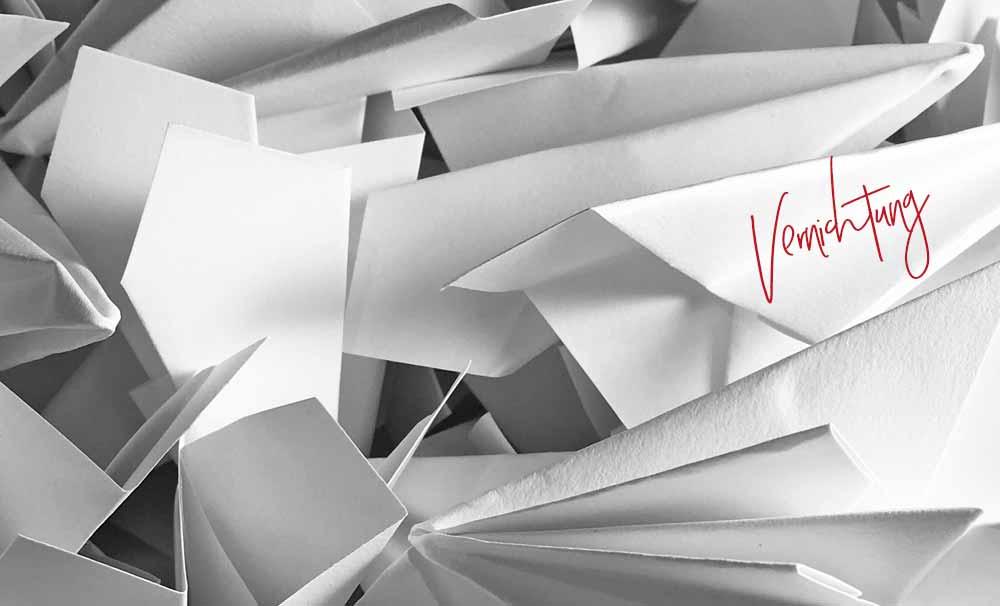 Blog Beitrag - DSGVO konforme Aktenvernichtung